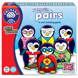 Orchard Toys Penguin Pairs - Mini Game