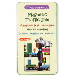 The Purple Cow Magnetic Traffic Jam Travel Game