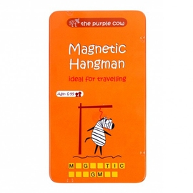 The Purple Cow Magnetic Hangman Travel Game