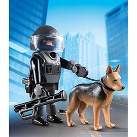 Playmobil Special Plus Tactical Police Dog Unit