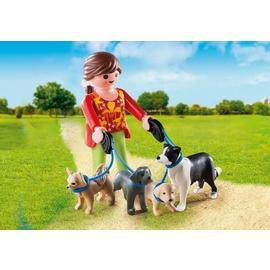 Playmobil Special Plus Dog Walker