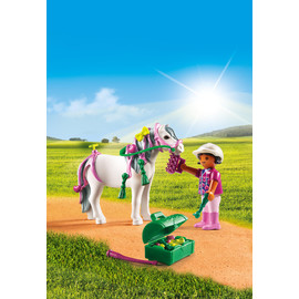 Playmobil Country - Groomer with Heart Pony