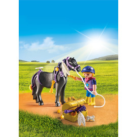 Playmobil Country - Groomer with Star Pony