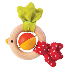 Plan Toys - Bird Rattle Wooden Eco Toy