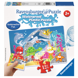 Ravensburger - Underwater 12pc Plastic Jigsaw Puzzle for Toddlers