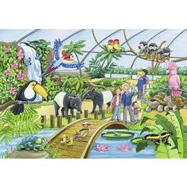 Ravensburger - Welcome To the Zoo Jigsaw Puzzle 2x24pc