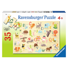 Ravensburger - A-Z Animals Jigsaw Puzzle 35pc