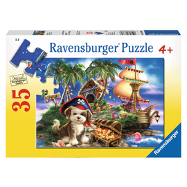 Ravensburger - Puppy Pirate Jigsaw Puzzle 35pc