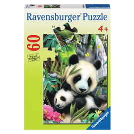 Ravensburger Panda Family Jigsaw Puzzle 60pc