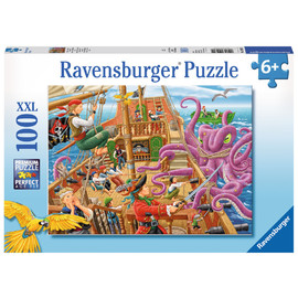 Ravensburger Pirate Boat Adventure Jigsaw Puzzle 100pc