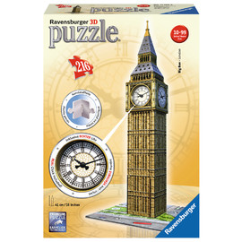 Ravensburger Big Ben with Working Clock 3D Jigsaw Puzzle 216pc