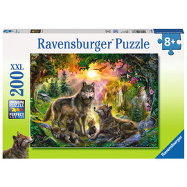 Ravensburger Wolf Family In The Sun Jigsaw Puzzle 200pc