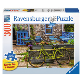 Ravensburger - Vintage Bicycle Large Format Jigsaw Puzzle 300pc