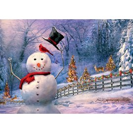 Ravensburger - The Magical Snowman Large Format 300pc Jigsaw Puzzle
