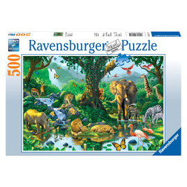 Ravensburger - Harmony in the Jungle Jigsaw Puzzle 500pc