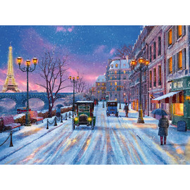Ravensburger - Winter In Paris Jigsaw Puzzle 500pc