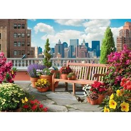 Ravensburger Rooftop Garden 500pc Larger Pieces Jigsaw Puzzle
