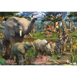 Ravensburger At The Waterhole 18000pc Jigsaw Puzzle