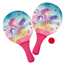 Spiegelburg Unicorn Neoprene Beach Paddle Ball Set