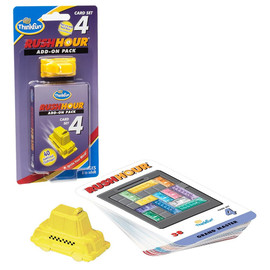 ThinkFun - Rush Hour 4|Expansion Pack with Taxi