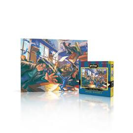 The New York Puzzle Company Harry Potter - Pixie Mayhem 100pc Mini Jigsaw Puzzle