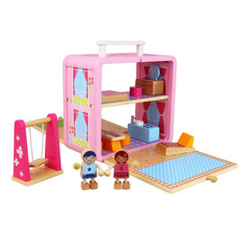 Tiger Tribe Wooden Boxset - Doll House