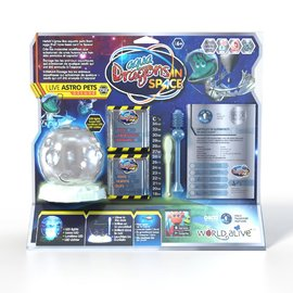 Aqua Dragons - Live Astro Pets Deluxe Kit with Glow In The Dark LED Tank