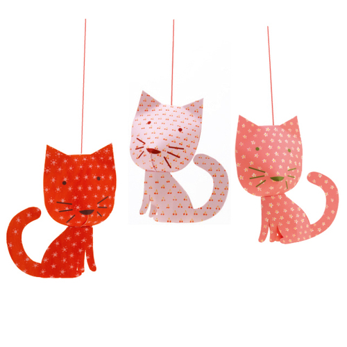 Djeco Perched Cats Hanging Mobile