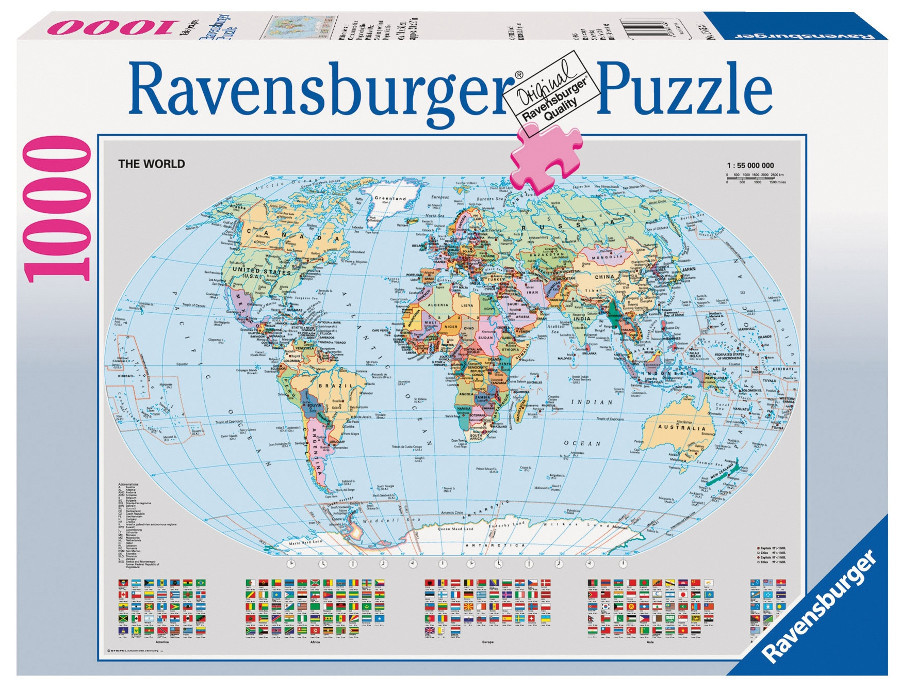Ravensburger political world map 1000pc adult jigsaw puzzle ravensburger political world map 1000pc adult jigsaw puzzleravensburger puzzles sunshine coast gumiabroncs