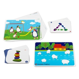 Edx Education Rainbow Pebbles Activity Cards Set of 47