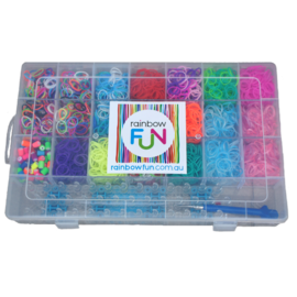 Rainbow Loom Storage Box - 22 Compartments (BOX ONLY)