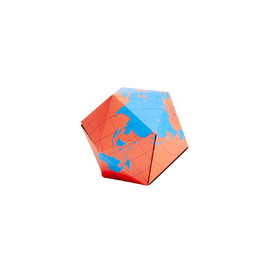 Areaware - Dymaxion Folding Globe - Blue
