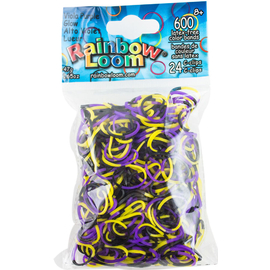Rainbow Loom Bands - Viola Purple Glow