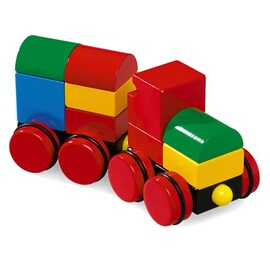 BRIO Magnetic Stacking Train 11 Pieces