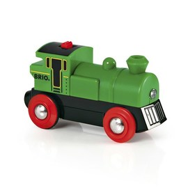 BRIO Battery Powered Engine | Green