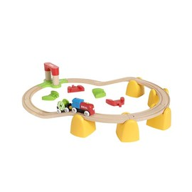 BRIO My First Railway Battery Operated Train Set 25 Pcs