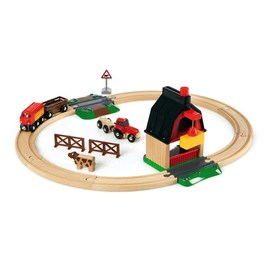 BRIO Farm Railway Set 20 Pcs