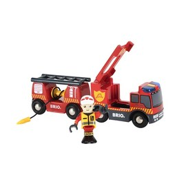 BRIO Emergency Fire Engine 3 Pce Set