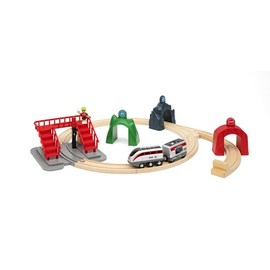 BRIO Smart Engine Set with Action Tunnels 17 Pcs