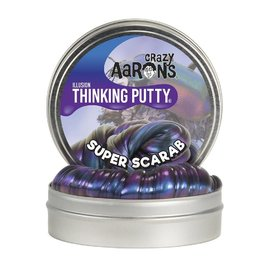 Crazy Aarons Thinking Putty|Super Scarab - Illusion 90g Tin