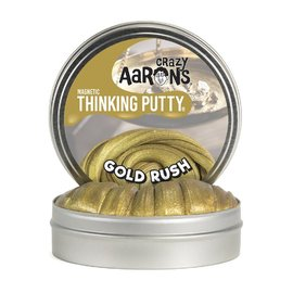 Crazy Aarons Thinking Putty | Gold Rush- Magnetic 90g Tin