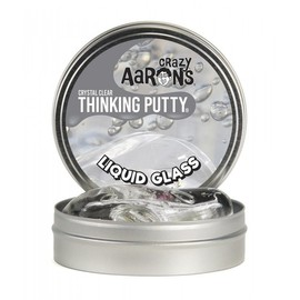 Crazy Aarons Thinking Putty | Liquid Glass Clear Putty