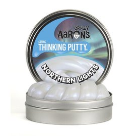Crazy Aarons Thinking Putty|Northern Lights - Glow In The Dark
