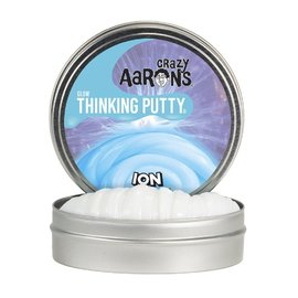 Crazy Aarons Thinking Putty|Ion - Glow In The Dark Mini Tin