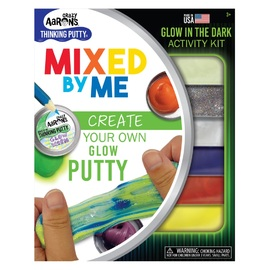 Crazy Aarons Thinking Putty | Mixed by Me Thinking Putty Kit | Glow In The Dark