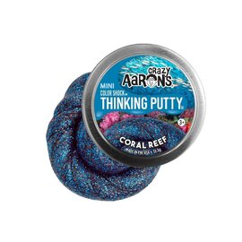 Crazy Aarons Thinking Putty | Coral Reef - Colour Shock