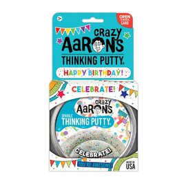 Crazy Aarons Thinking Putty | Celebrate - Celebration Themed Sparkling Putty