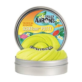 Crazy Aarons Thinking Putty | Sunsational - Tropical Scented Putty