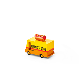 Candylab - Mini Single Hot Dog Van | Wooden Toy Car