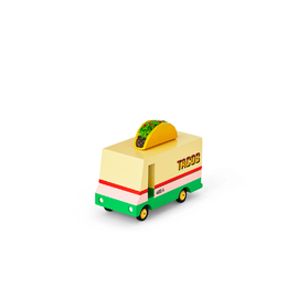 Candylab - Mini Single Taco Truck | Wooden Toy Car
